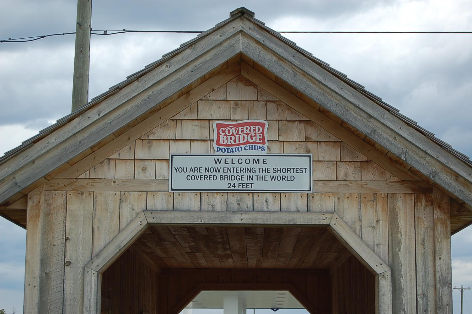 The shortest coverd Bridge